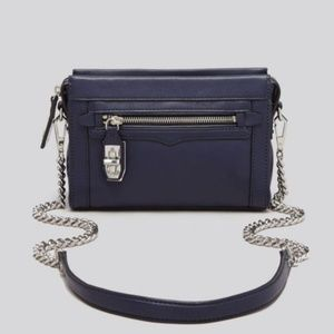 Rebecca Minkoff Navy Mini Crosby Crossbody